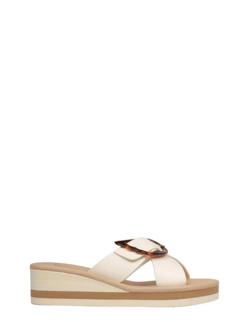 Ancient Greek Sandals Sandals - Off White Tortoiseshell