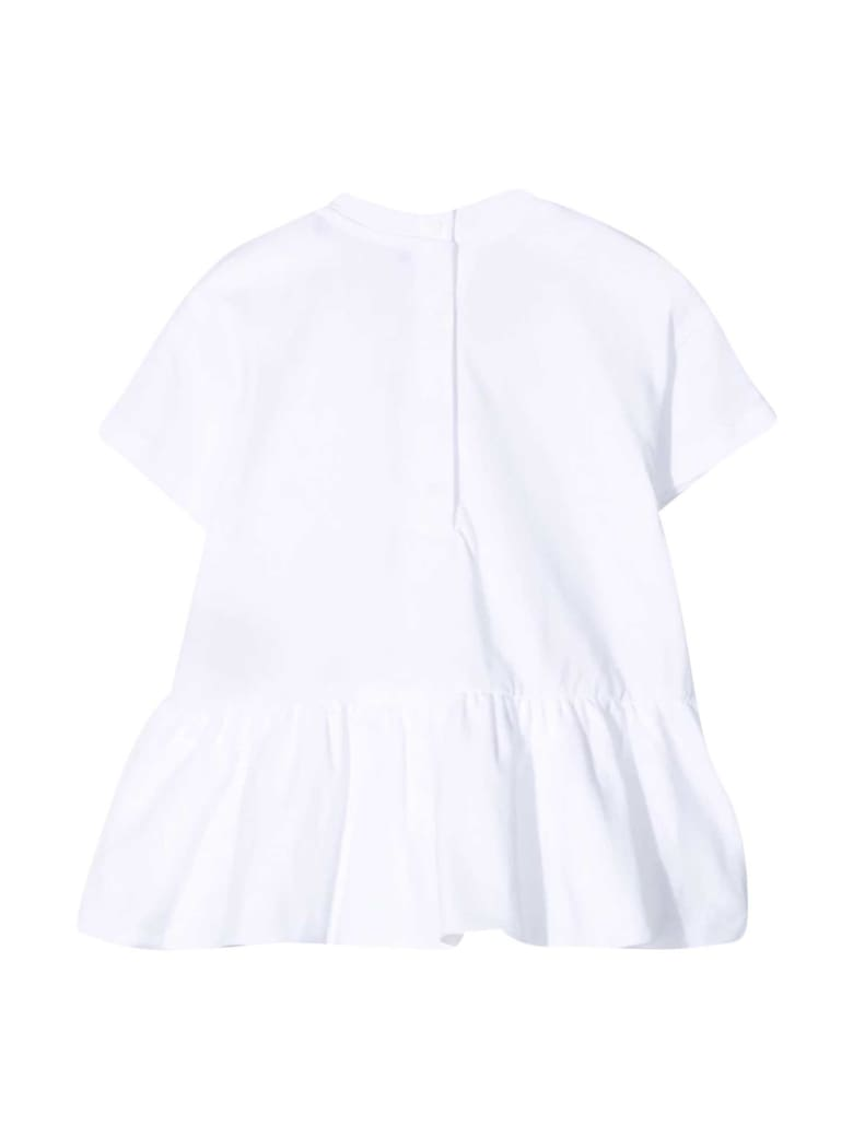 Balmain White T-shirt Dress - Bianco