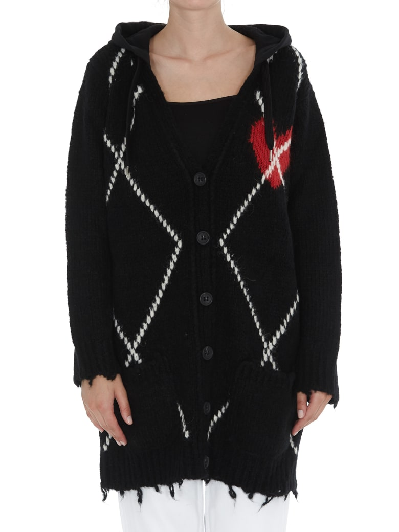 RED Valentino Cardigan - Black