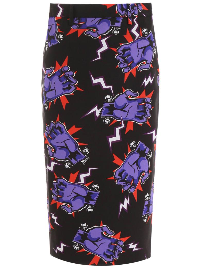 Prada Frankenstein Skirt - VIOLA (Purple)