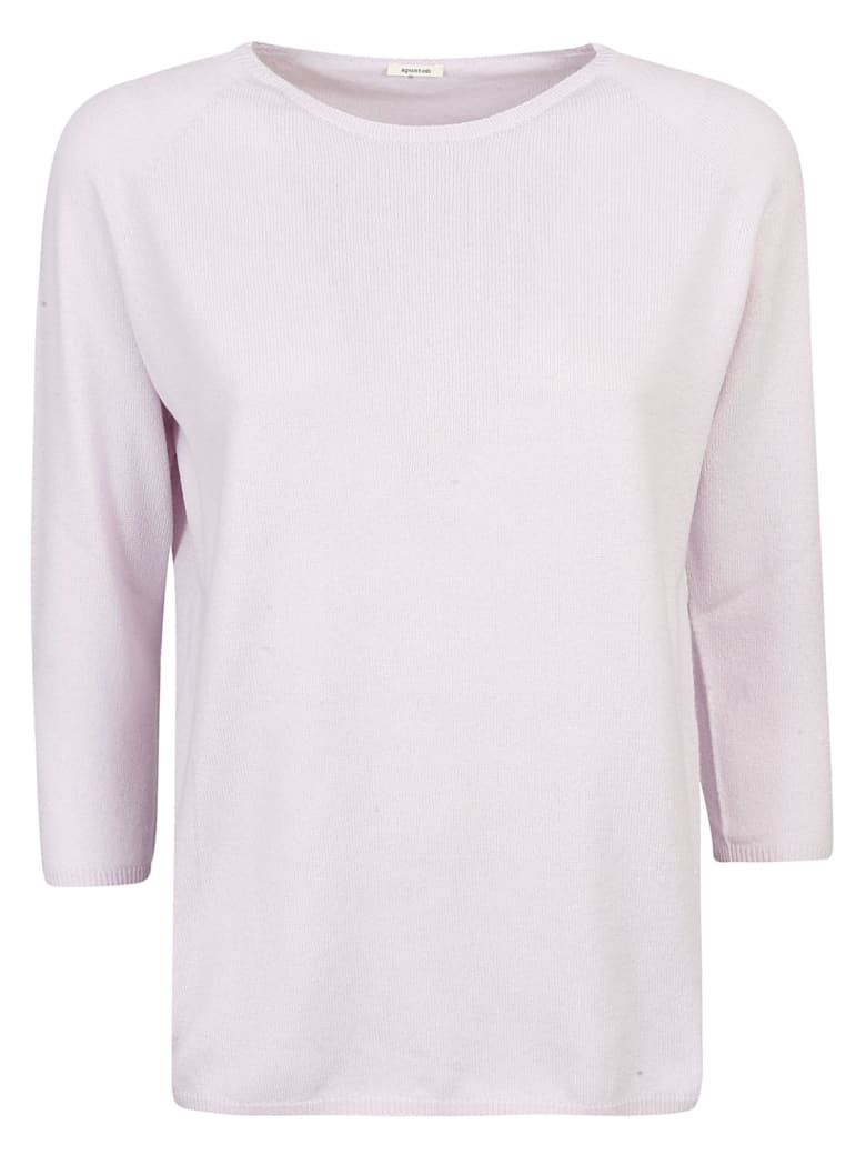 A Punto B Slim Sweater - Pink