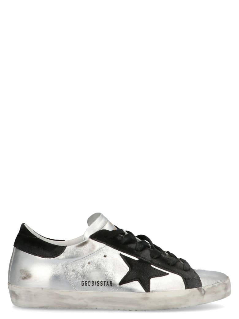 Golden Goose 'super Star' Shoes - Silver