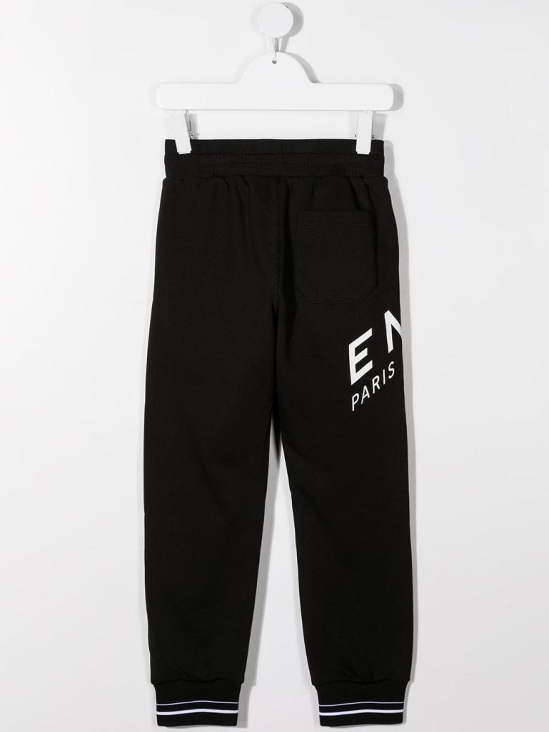 Givenchy Jersey Jogger With Logo Print - Nero