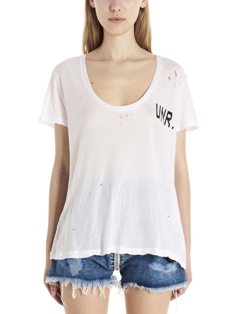 Ben Taverniti Unravel Project T-shirt - White