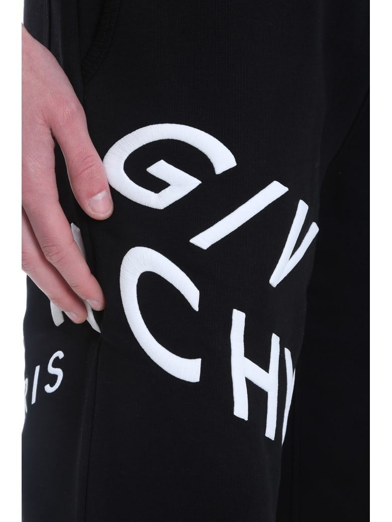 Givenchy Pants In Black Cotton - Nero