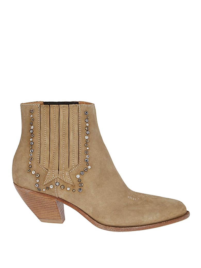 Golden Goose Brown Leather Boots - Cuoio