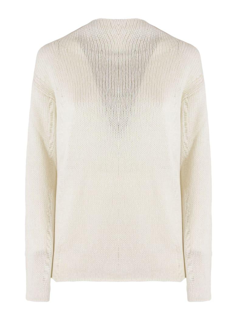 Dondup Cream Wool Blend Sweater - Panna