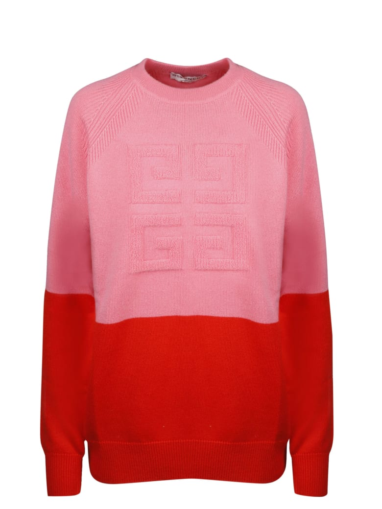 Givenchy 4g Logo Bi-color Sweater