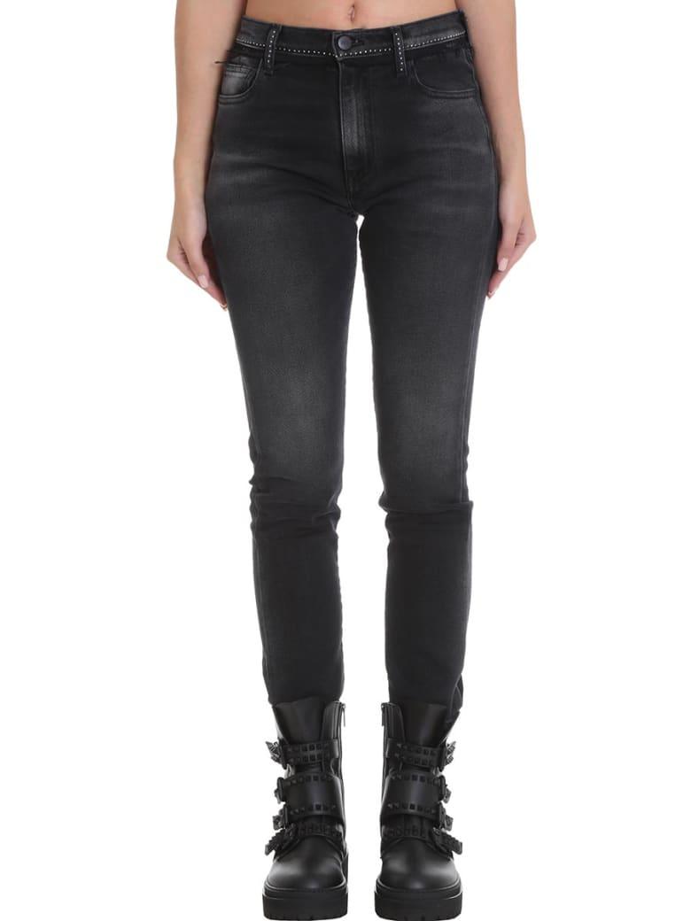 Marcelo Burlon Jeans In Black Denim - black