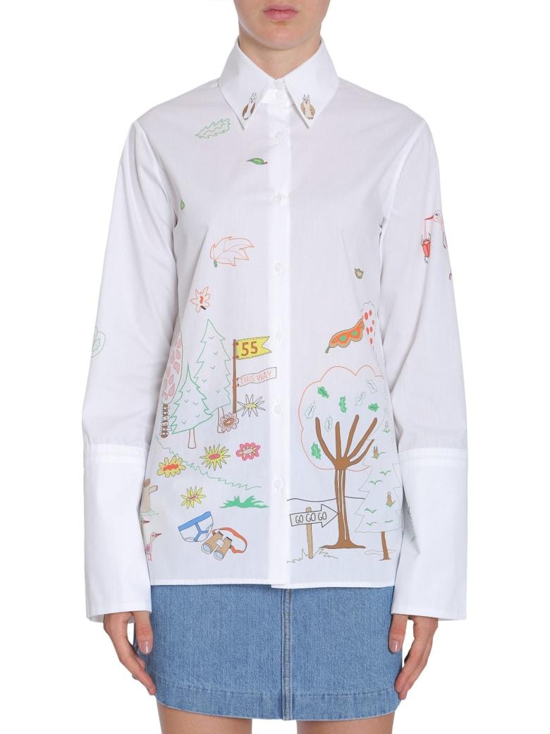 Mira Mikati Adventure Print Shirt - BIANCO