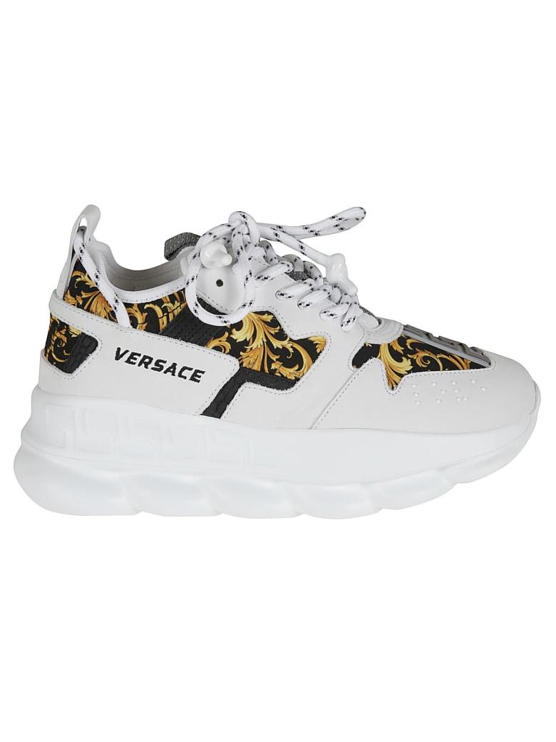 Versace Western Baroque Sneakers - white