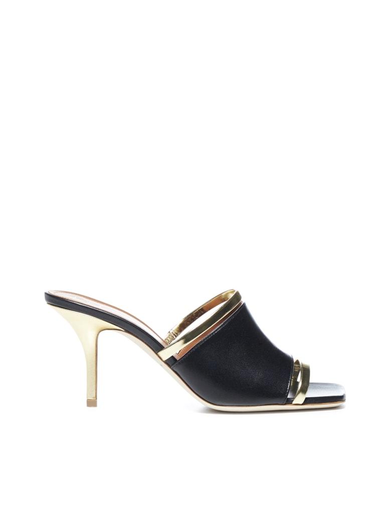 Malone Souliers Flat Shoes - Black platino