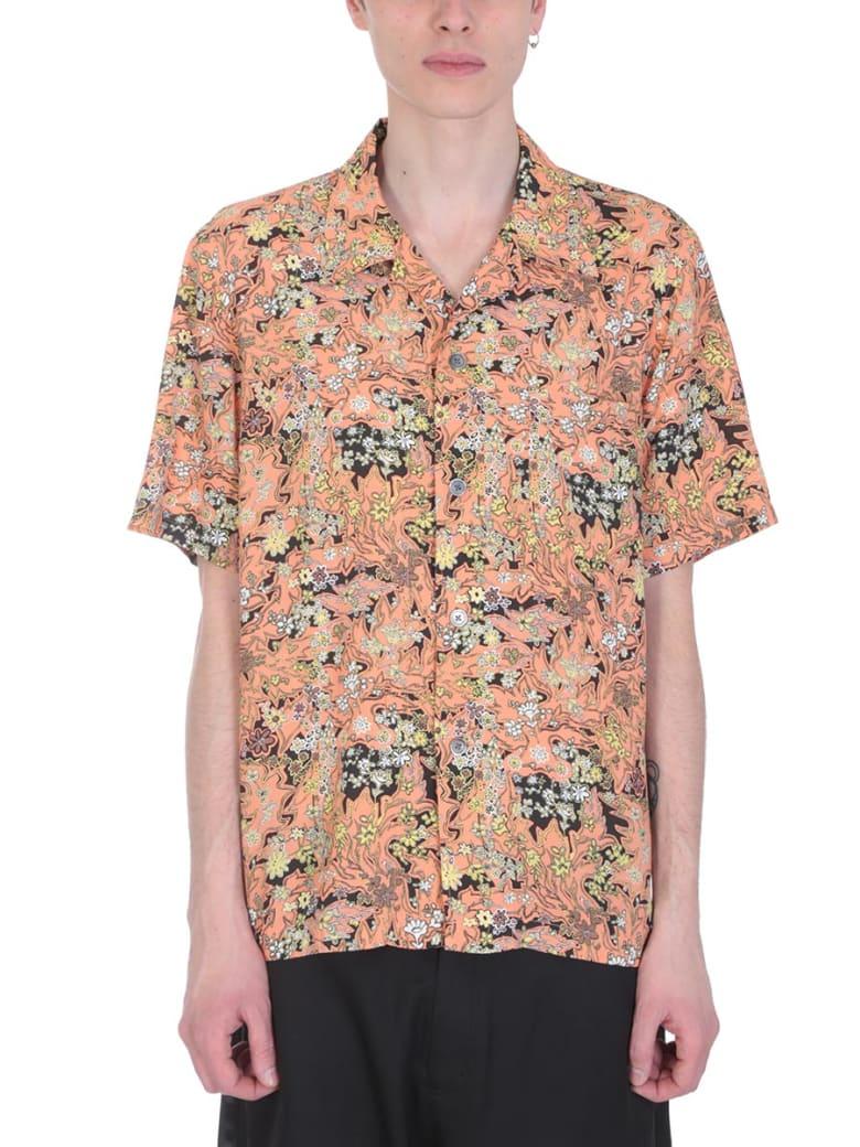 Our Legacy Multicolor Cotton Shirt - orange