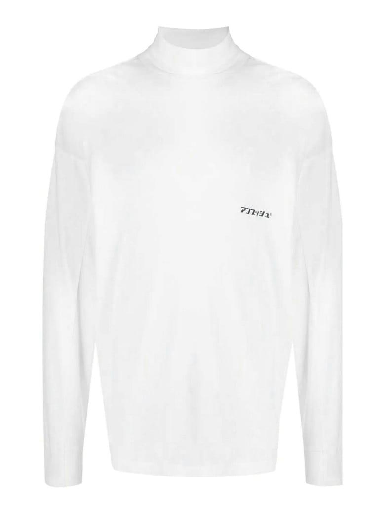 AMBUSH White Cotton Jumper - Bianco