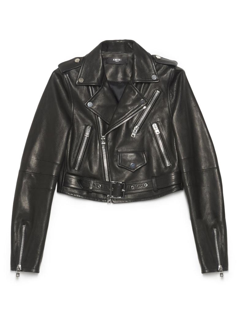 AMIRI Biker Jacket - Black
