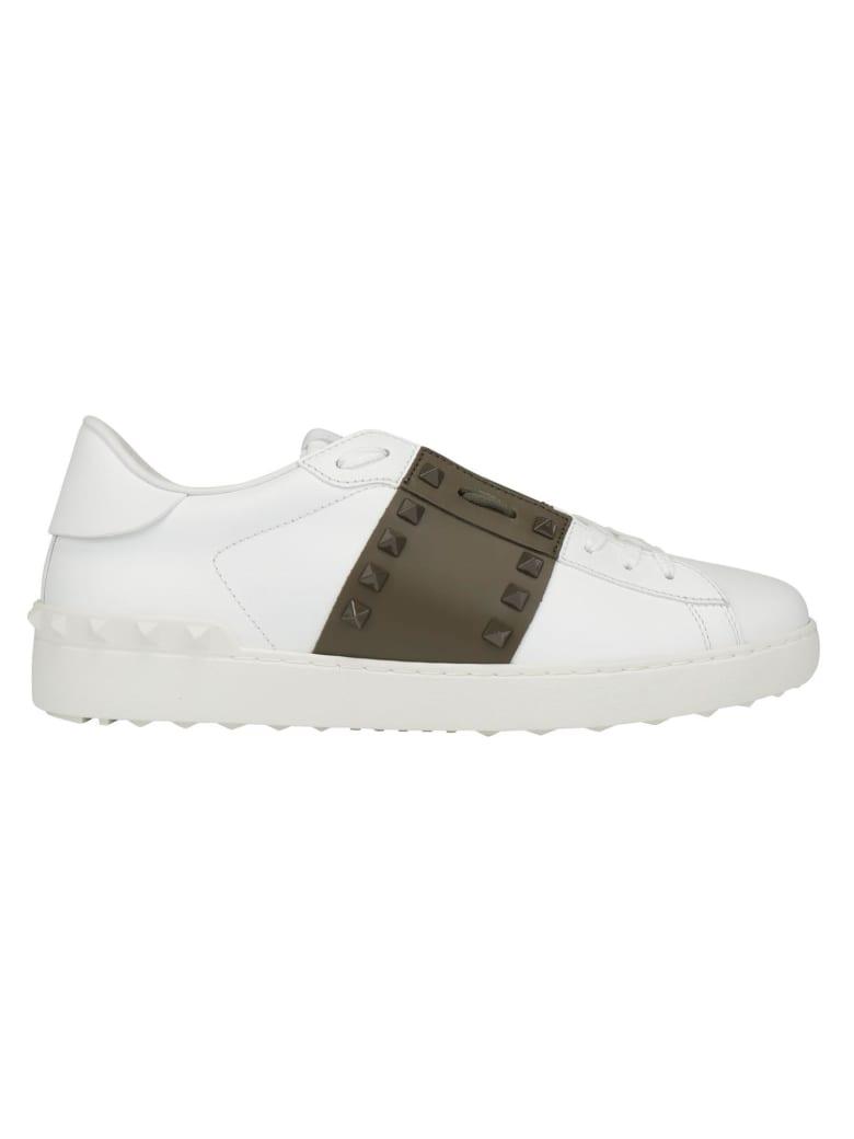 Valentino Garavani Sneakers - Bianco/army green