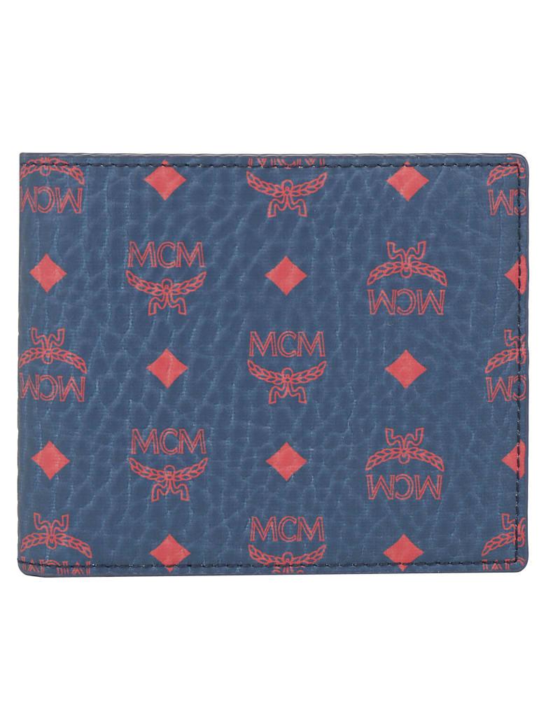 MCM Wallet - Deep blue sea