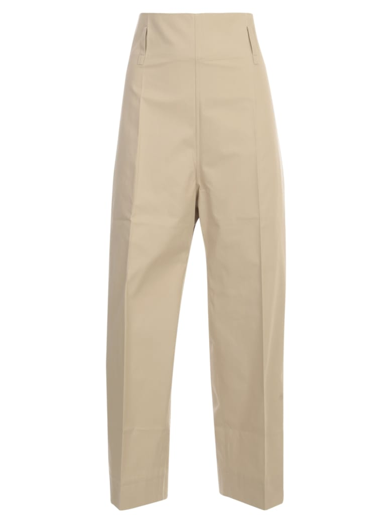 Sofie d'Hoore Belted Classic Pants - Woven Sand