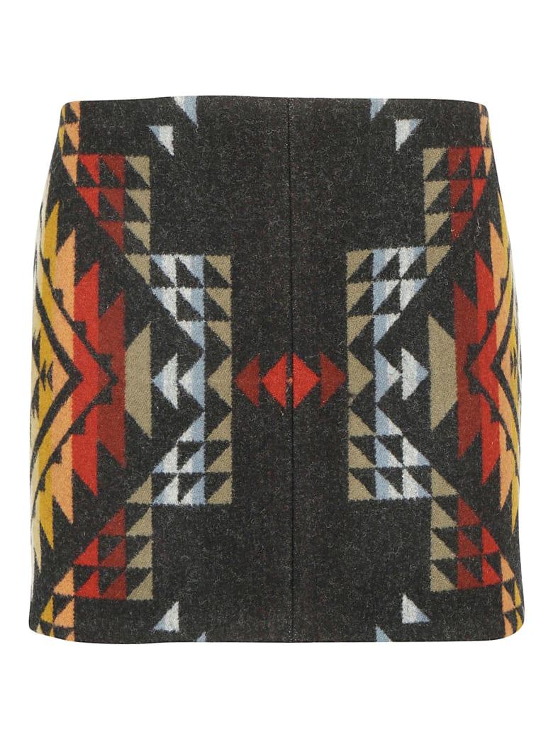 Jessie Western Pueblo Skirt - Multicolor