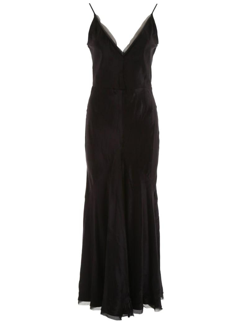 Gabriela Hearst Velvet Bridget Dress - BLACK (Black)