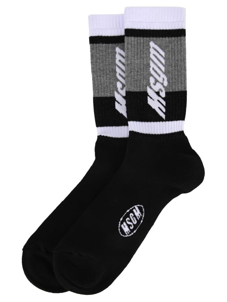 MSGM Logo Socks - BLACK