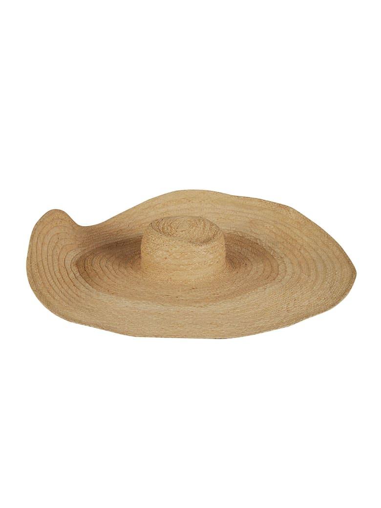 Ruslan Baginskiy Wide Woven Hat - Natural