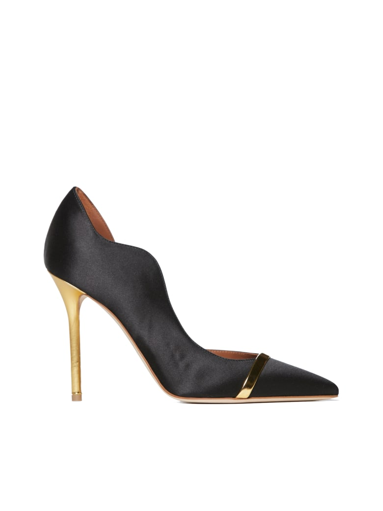 Malone Souliers High-heeled shoe - Black gold