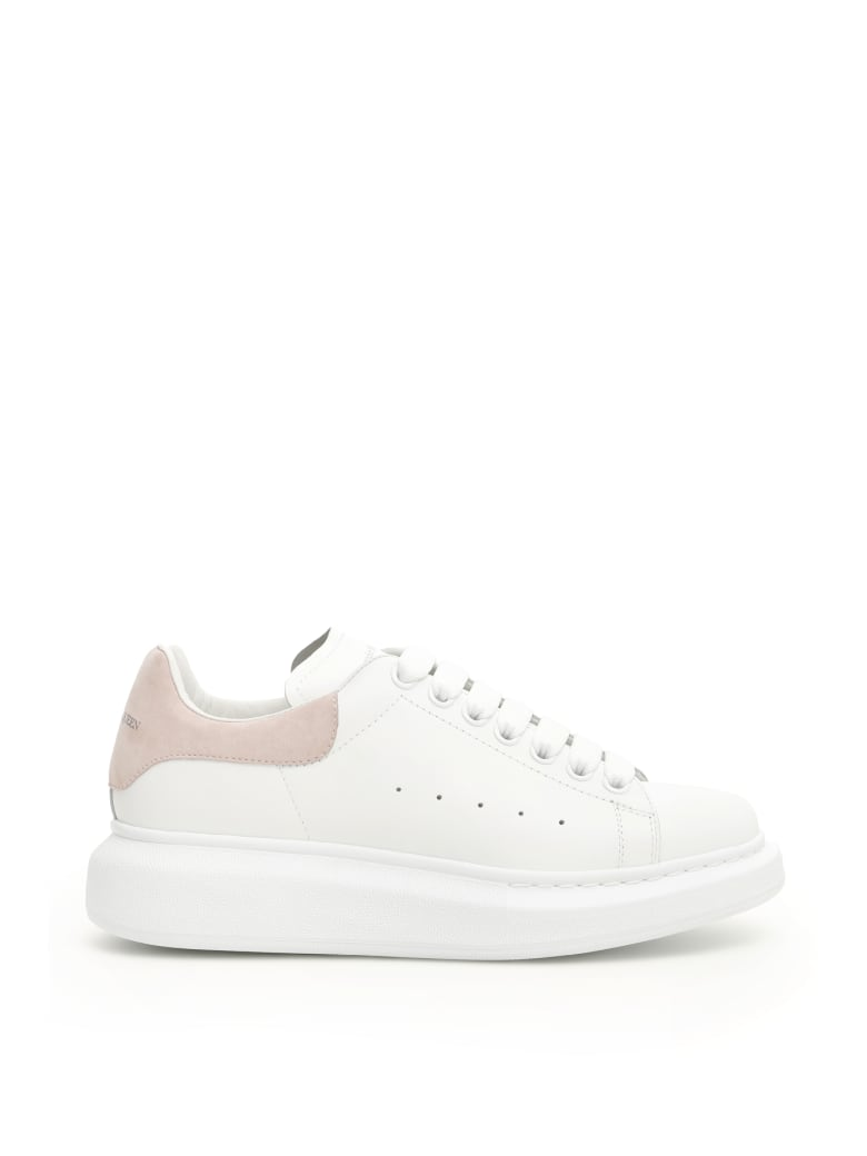Alexander McQueen Oversized Sneakers - WHITE PATCHOULI (White)
