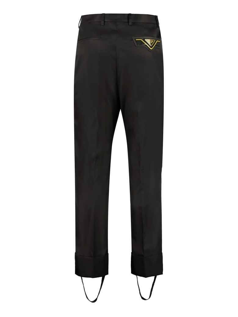 Prada Technical-nylon Pants - black