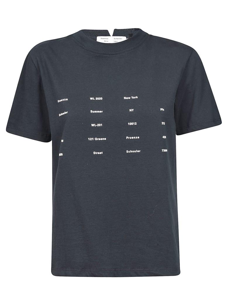 Proenza Schouler Printed T-shirt - Black