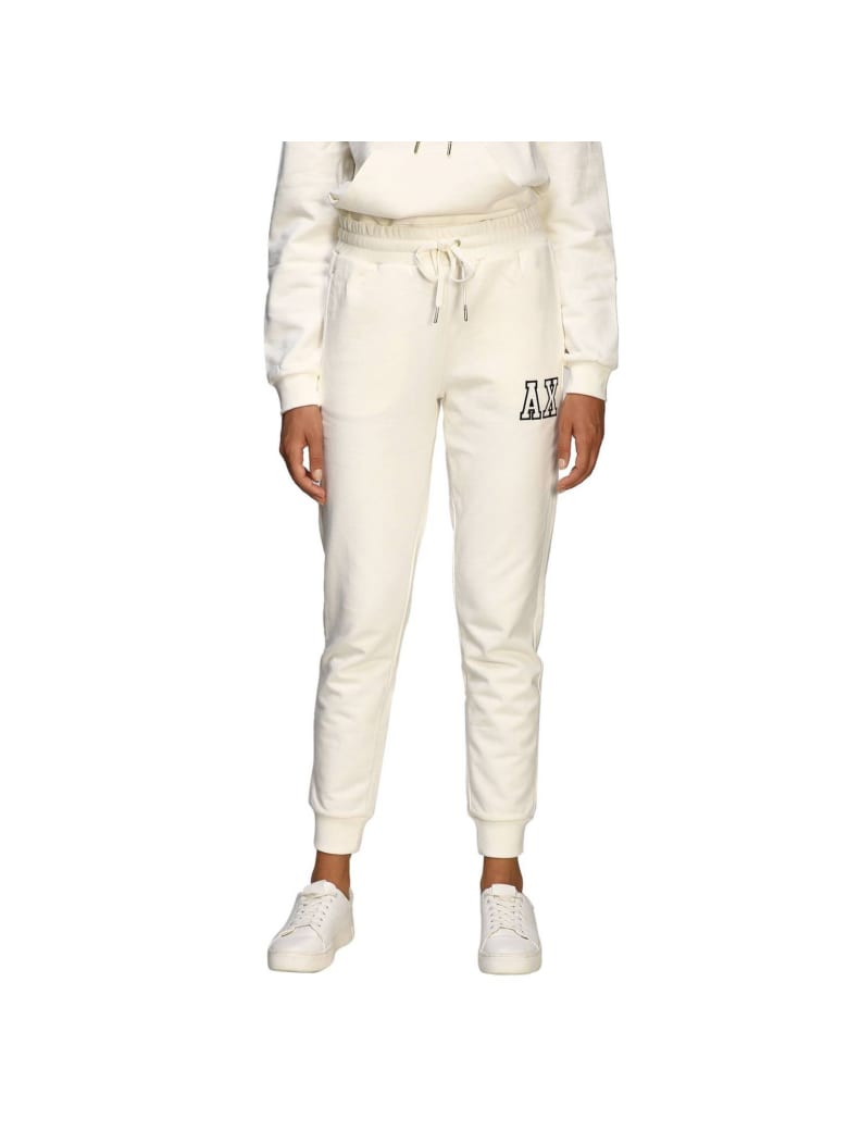 Armani Collezioni Armani Exchange Pants Pants Women Armani Exchange - white