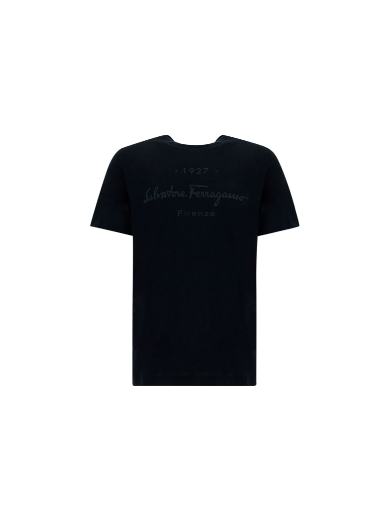 Salvatore Ferragamo T-shirt - Black/black