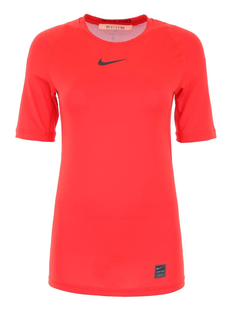 Alyx Nike Logo T-shirt - RED (Red)