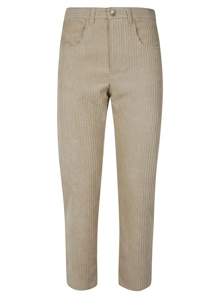 Isabel Marant Straight Leg Jeans - Beige