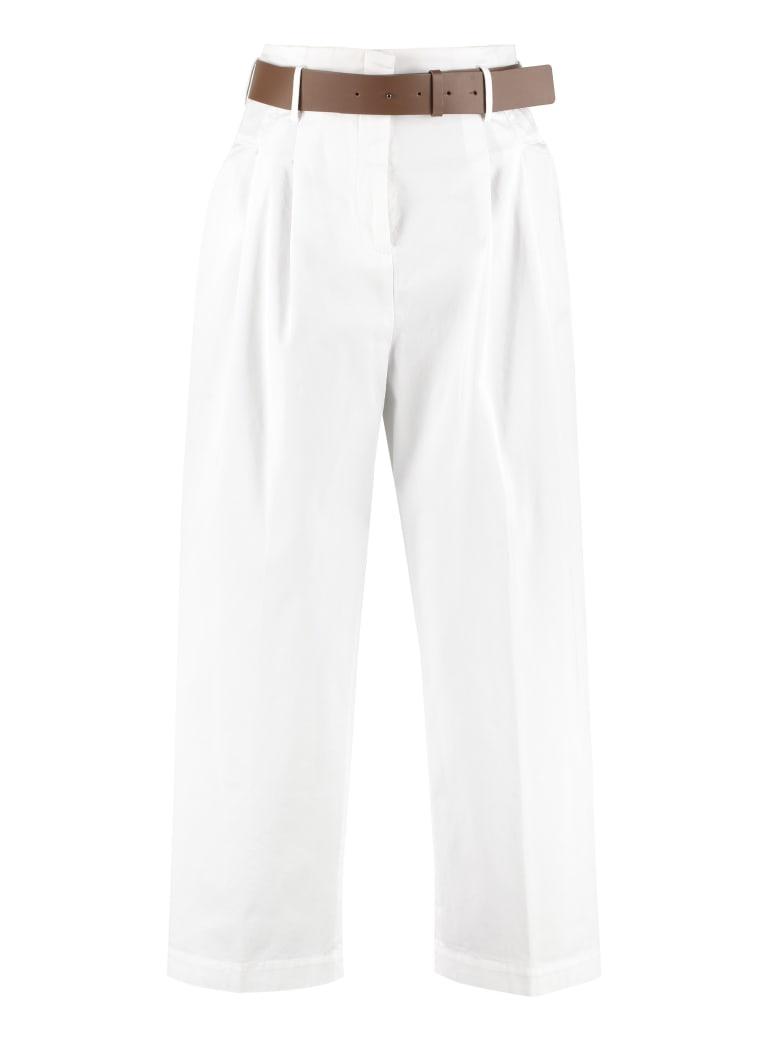 Fabiana Filippi Cotton Culotte Trousers - White