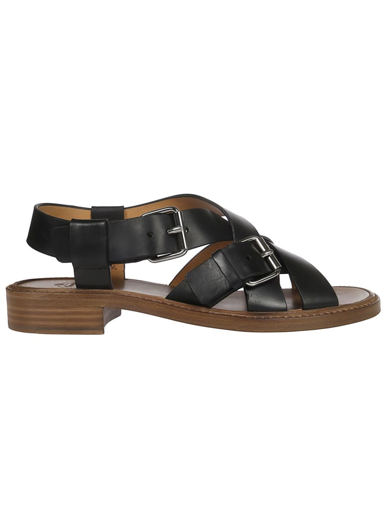 Church's Crossed Strap Sandals - Brown