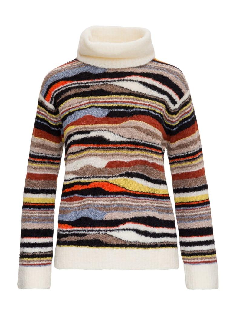 M Missoni Multicolor Alpaca Turtleneck Sweater - Multicolor