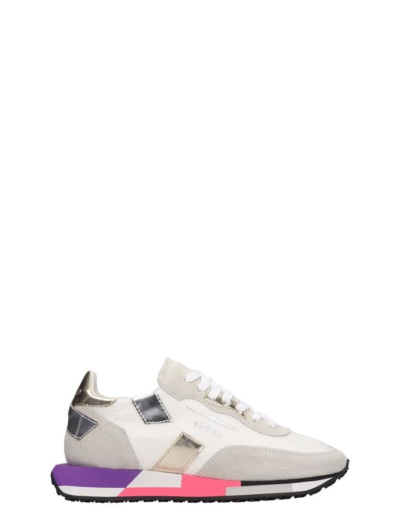 GHOUD Rush Sneakers In White Tech/synthetic - white