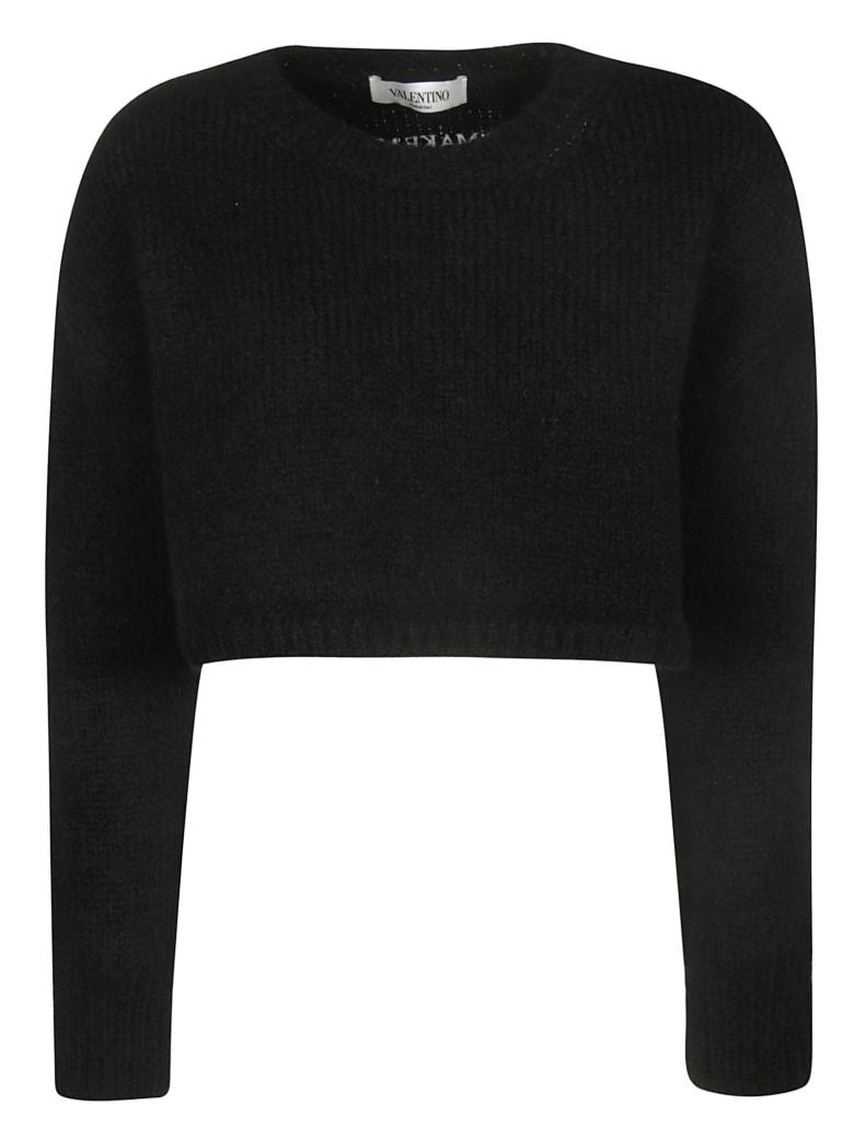 Valentino Cropped Sweater - No Nero