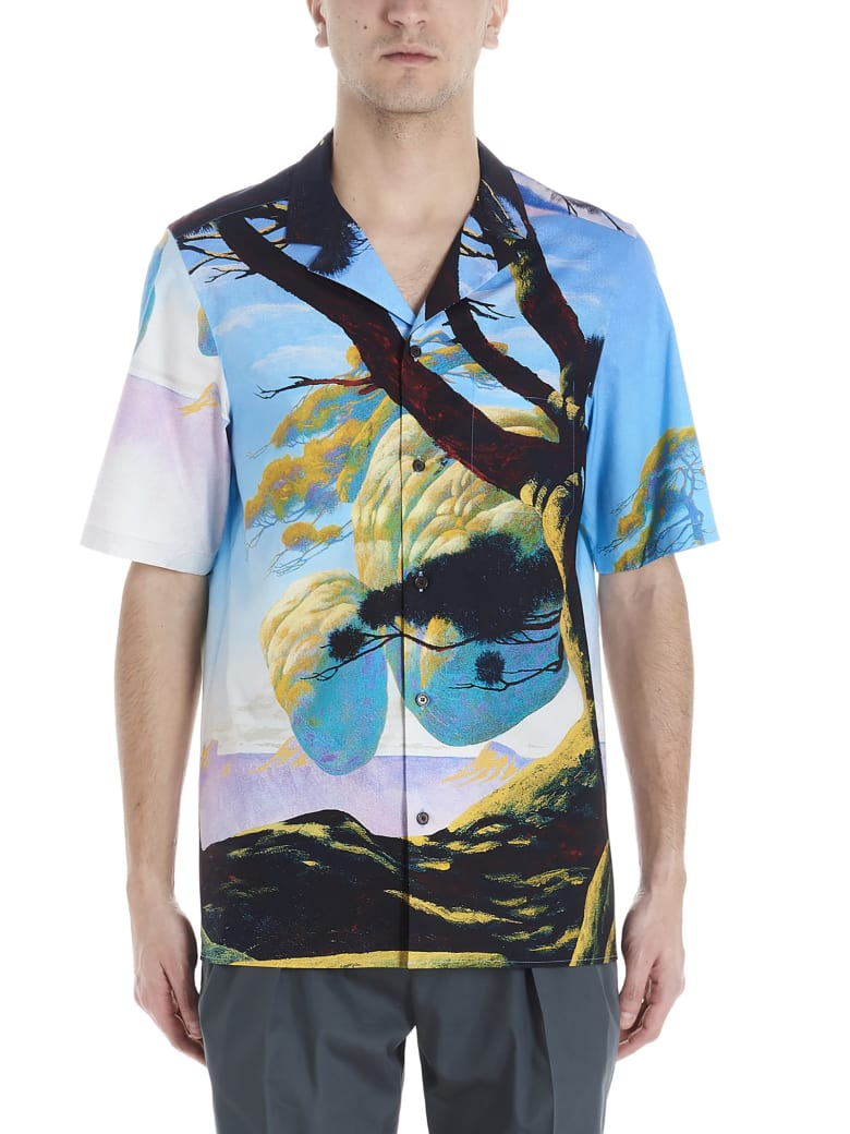 Valentino 'floating Island' Shirt - Multicolor