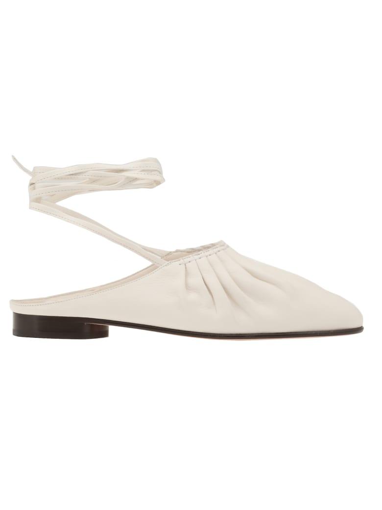 3.1 Phillip Lim Nadia Lace Up Ballet Slipper - IVORY