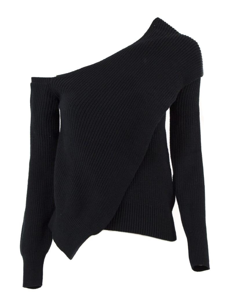 RTA Juliet Sweater In Black Cotton - Nero