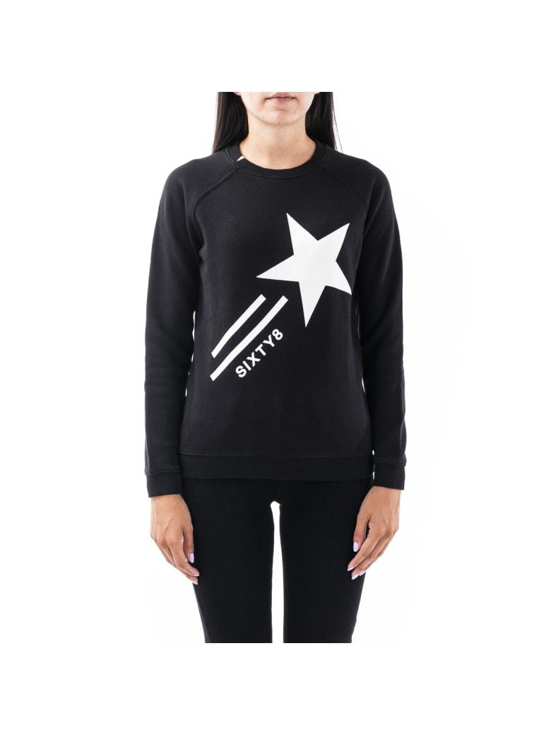 Sun 68 Sun68 Cotton Sweater - BLACK