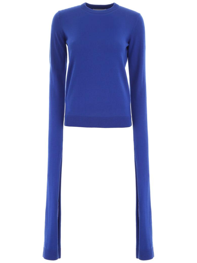 Coperni Long-sleeved Pullover - ELECTRIQUE BLUE (Blue)