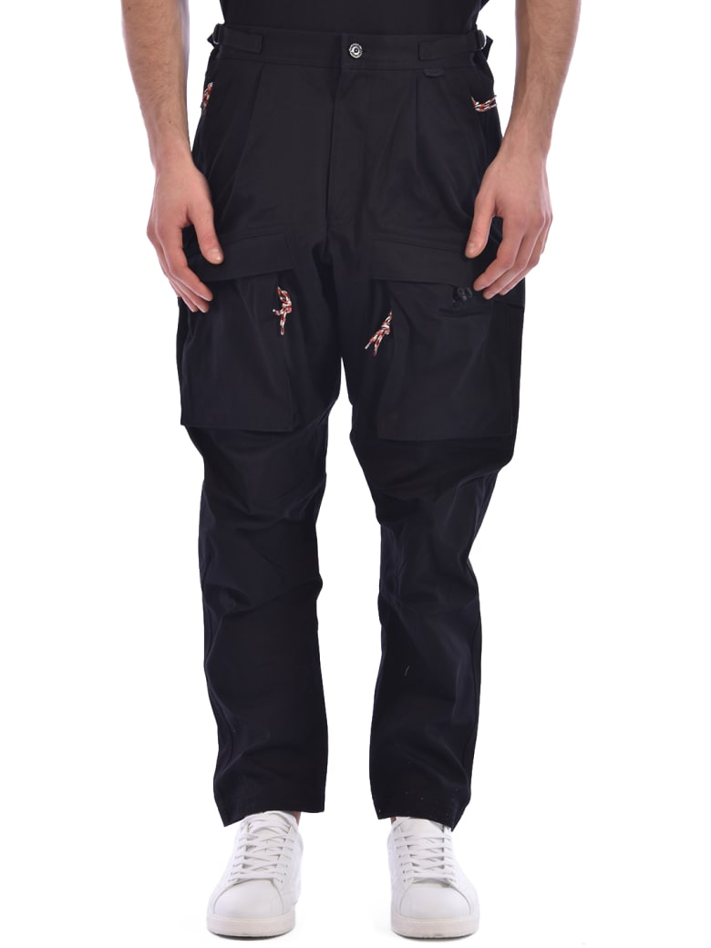 Burberry Cargo Trousers Black - Black