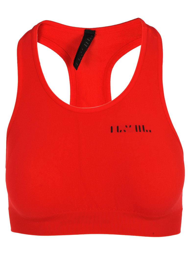 Ben Taverniti Unravel Project Unravel Unravel Project Cropped Sports Top - RED