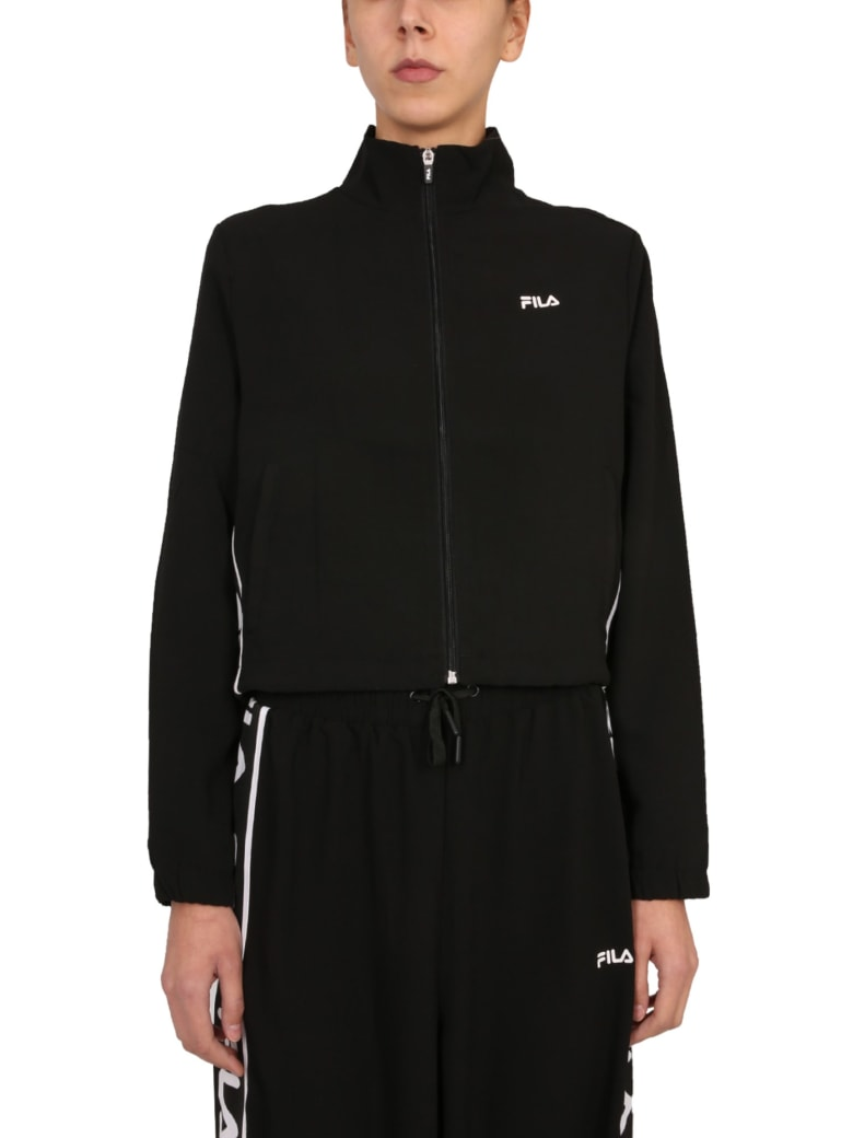 Fila Jacket With Zip - NERO