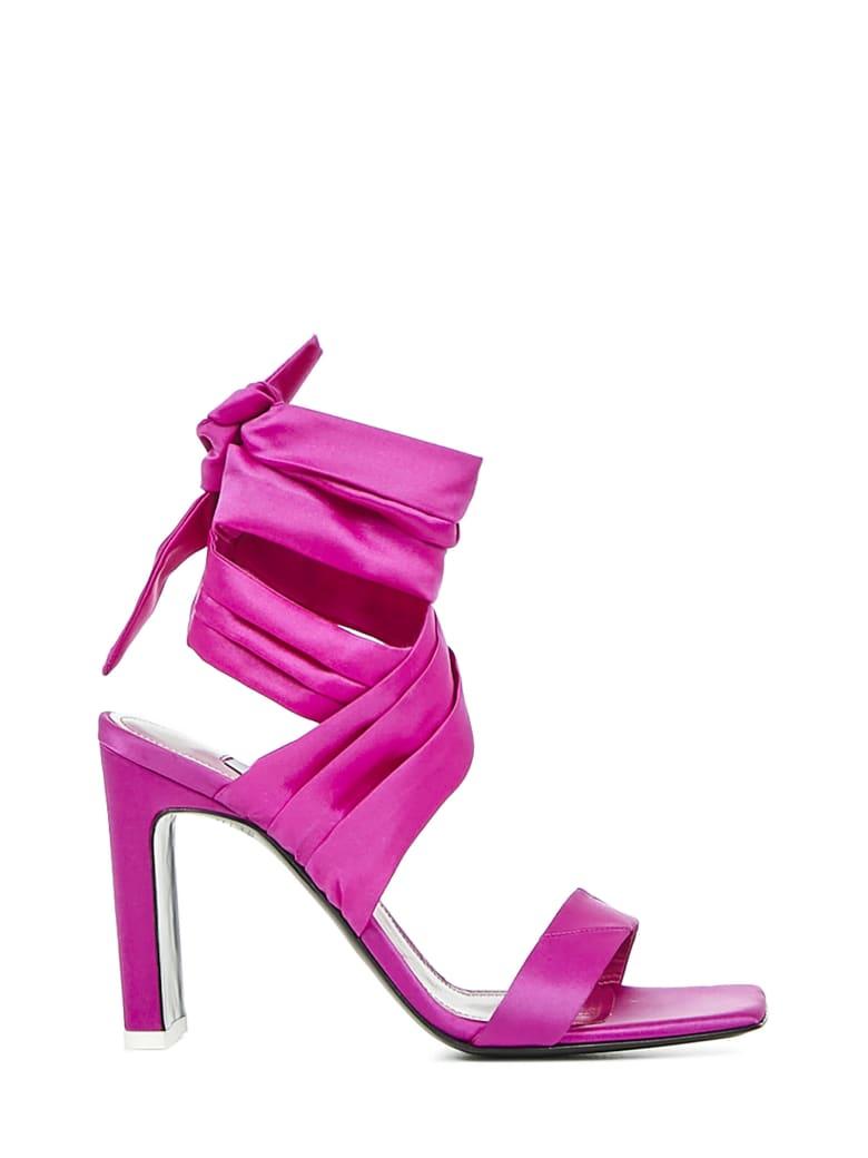The Attico Paris Sandals - Fucsia