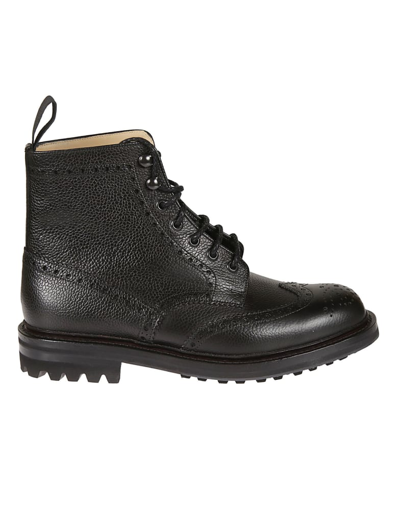Church's Mc Farlane Perforated Boots - Black