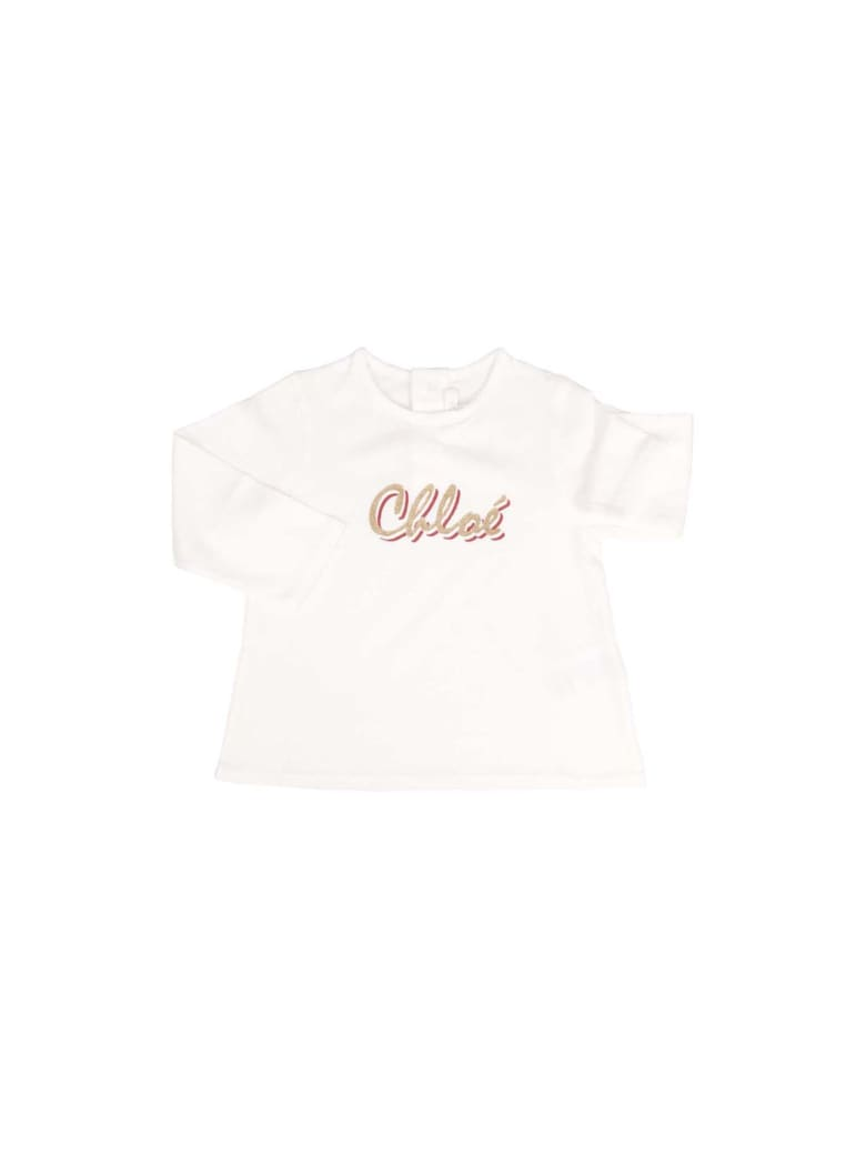 Chloé T-Shirt - Bianco